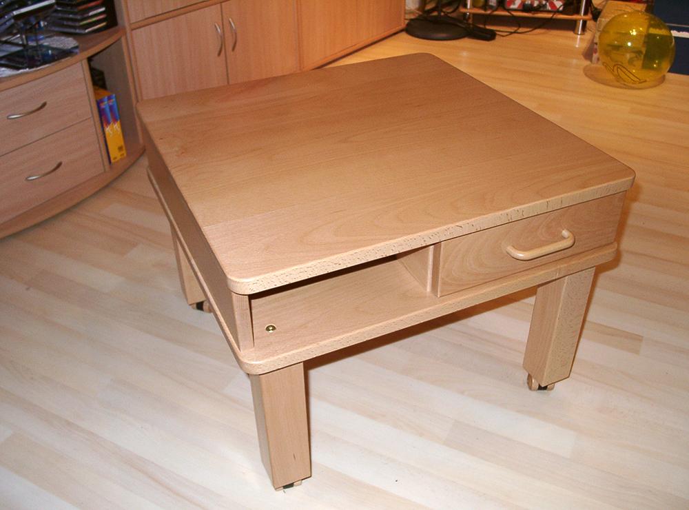 Wälde Esszimmer-Tisch mit Rollen