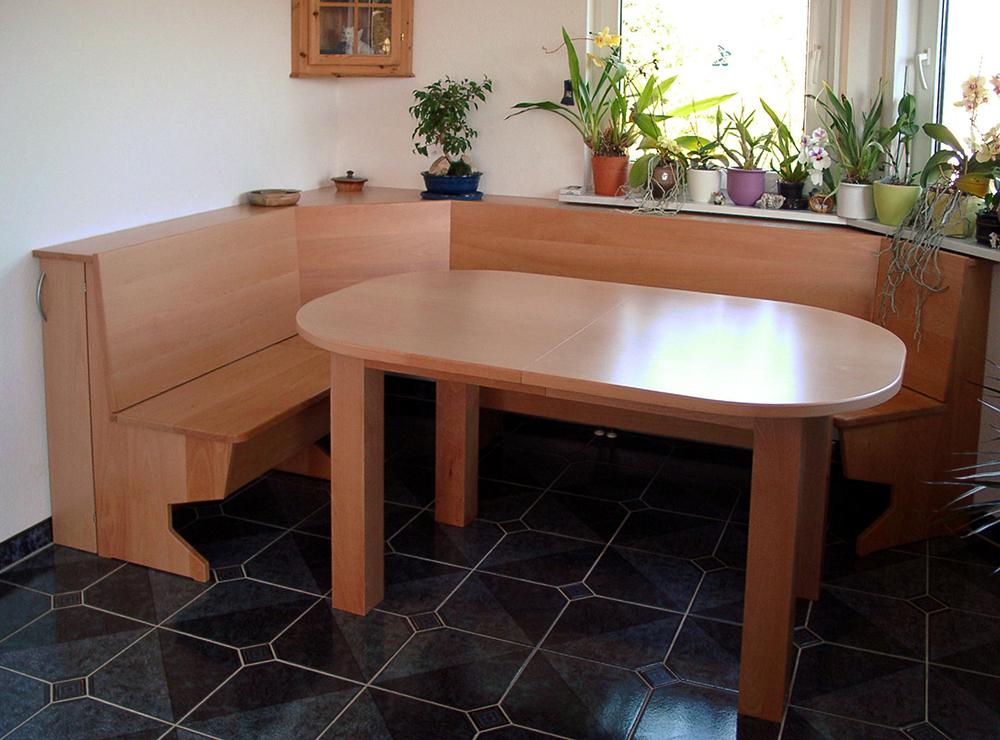 Wälde Esszimmer-Tisch abgerundet