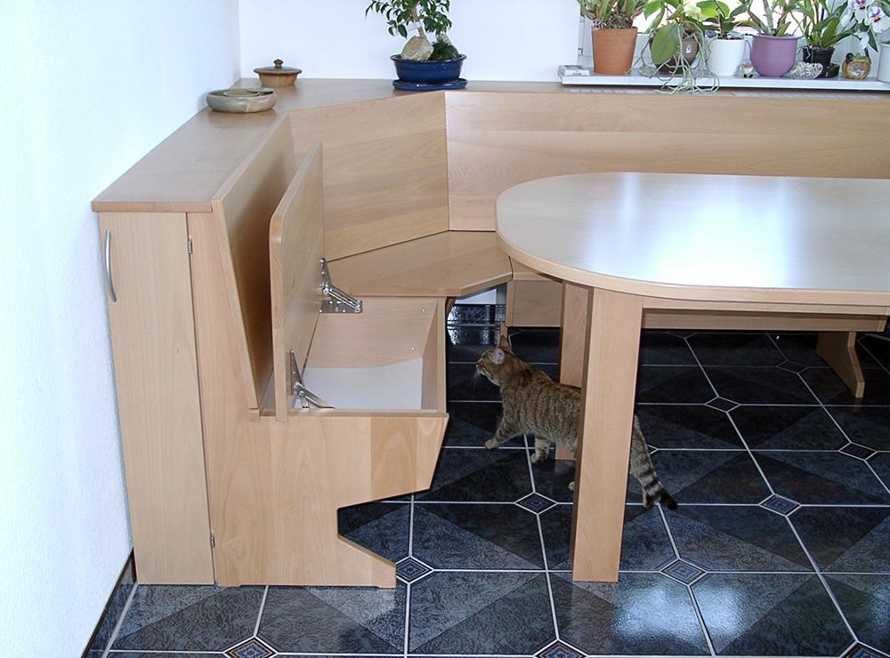 Wälde Esszimmer-Tisch mit Eckbank