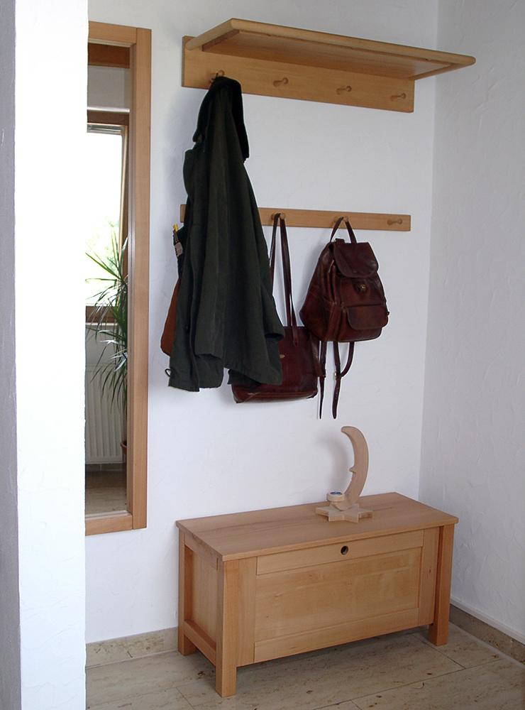 Wälde Garderobe Kommode Kleiderhaken