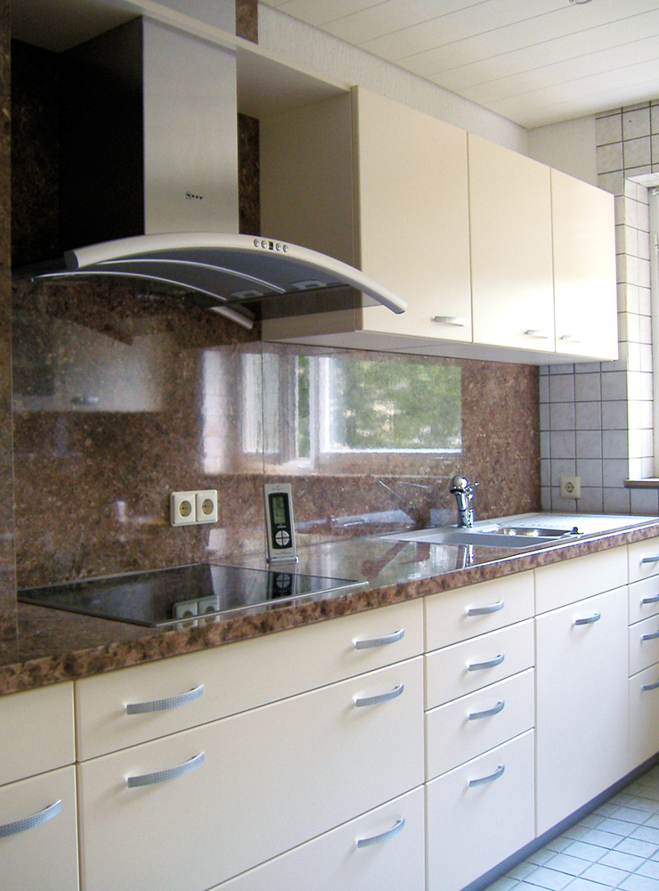 Wälde Küche Dekor hell