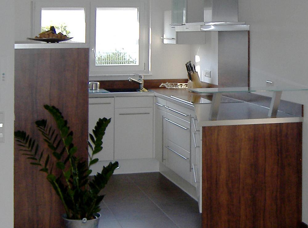 Wälde Küche Weißlack UForm