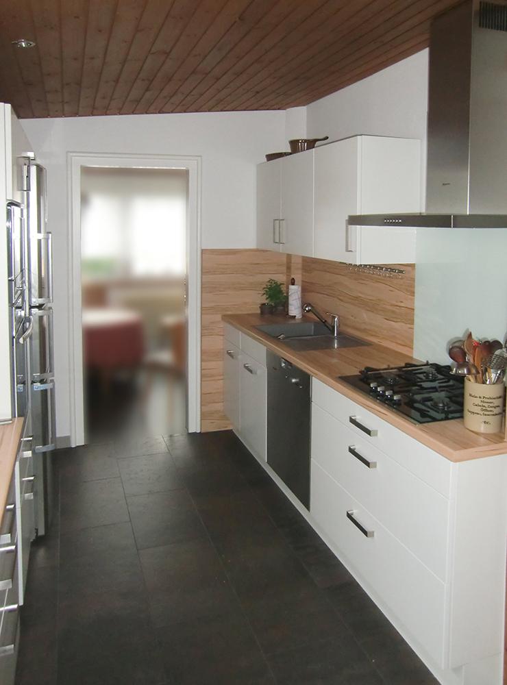 Wälde Küche Weißlack