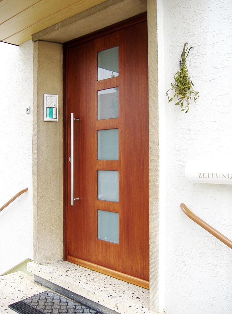 Wälde Türen Eingangstür Fenster quadratisch