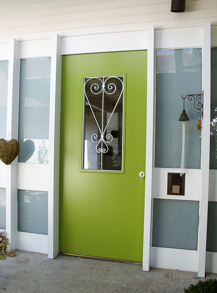 Wälde Türen Eingangstür grün