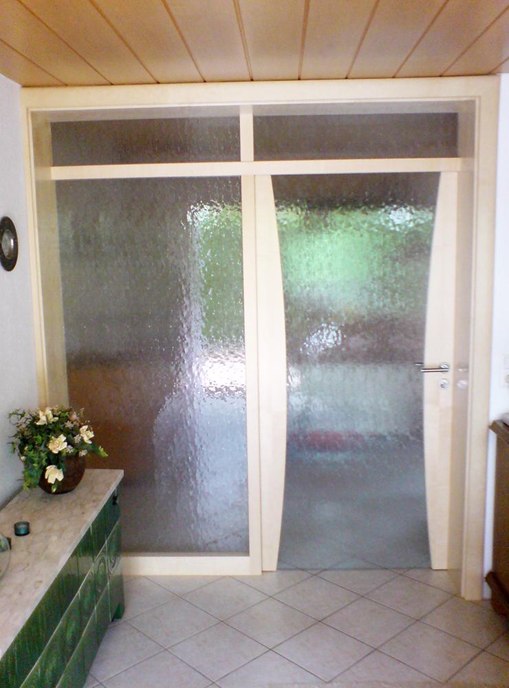 Wälde Türen Innentür Glas weiß